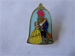 Disney Trading Pin Loungefly  - Beauty and the Beast - Bell Jar