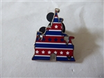 Disney Trading Pin 142318 WDW - Hidden Mickey 2020 - Castle Patriotic