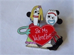 Disney Trading Pin 142328 DS - Valentine's Day 2021 Mystery - Forky and Karen