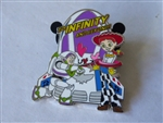 Disney Trading Pin  142331 DS - Valentine's Day 2021 Mystery - Buzz and Jessie