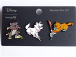 Disney Trading Pins 142454 Loungefly - Aristocats - Paint
