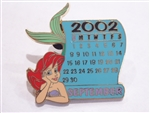 Disney Trading Pin 14323 DS - 12 Month of Magic Calendar Series (September / Ariel)