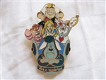 Disney Trading Pin 14794: DLR - Disneyland Attractions (Alice in Wonderland)