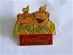 Disney Trading Pins 1482 WDW - 15th Anniversary Coca-Cola Framed Set (Tweedledum & Tweedledee)