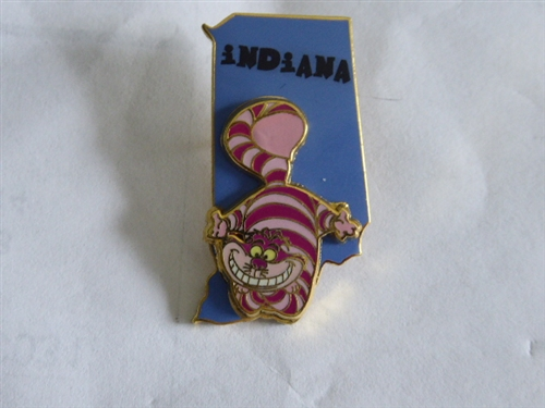 Pin 14917 State Character Pins IndianaCheshire Cat