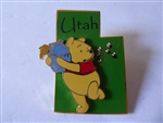Disney Trading Pin 14958 State Character Pins (Utah/Winnie the Pooh) Production Sample
