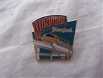 Disney Trading Pin  150 DL - 1998 Attraction Series - Mark III Monorail