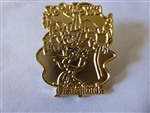 Disney Trading Pins 152 DL - 1998 Attraction Series - Minnie's Toontown House (Minnie Mouse) gold Prototype
