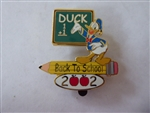 Disney Trading Pin  15412 Disney Auctions - Back To School 2002 (Donald)