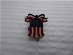 Disney Trading Pin Let Freedom Ring Bell (Commemorate Pin & Card)