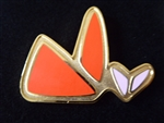 Disney Trading Pin 1548 Fantasia 2000 - Beethoven Triangle Butterfly