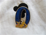 Disney Trading Pin 15677: Pluto from 2001 Boxed Pin Set