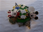 Disney Trading Pin WDW - 4 Park Spinner (Mickey & Minnie)