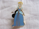 Disney Trading Pin 1610: Cinderella standing in blue gown