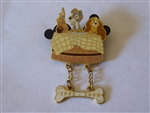Disney Trading Pins 1614 DLR - Lady and the Tramp (Dangle)