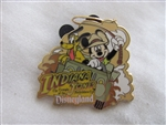 Disney Trading Pin 16159: DLR - Indiana Jones The Temple of the Forbidden Eye