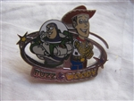 Disney Trading Pin 16444: Pin Trading Starter Kit (Toy Story) Buzz Lightyear & Woody