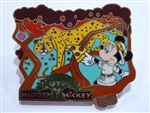 Disney Trading Pin 16606 WDW - AK Pin Trading Porch - Hidden Mickeys #3 (Minnie Mouse)