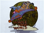 Disney Trading Pin 16657 Magical Musical Moments - A Whole New World (Lime) Musical