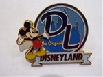 Disney Trading Pin  16900 Disneyland Letters Mickey Mouse (3D)