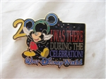 Disney Trading Pin  172 WDW - I Was There 2000 (Black)