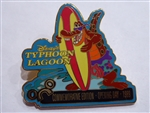 Disney Trading Pin  1736 WDW June 2000 Pin of the Month - Typhoon Lagoon