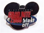 Disney Trading Pin 1746 Grad Nite 2000 Disneyland Blast Off Lapel Pin