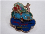 Disney Trading Pin  17463 WDW - Share A Dream Come True Annual Passholder Pin #5 (Disney-MGM Studios Disney Stars and Motorcars Parade)