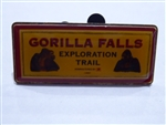 Disney Trading Pin 1757 Gorilla Falls Press pin