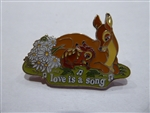 Disney Trading Pin 17655 Magical Musical Moments - Love is a Song