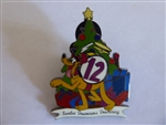 Disney Trading Pin 17792 DLR - Twelve Days of Christmas (12 Drummers Drumming)