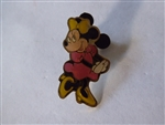 Disney Trading Pins 17836 Shy Minnie, pink dress, yellow bow & shoes