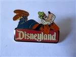 Disney Trading Pin  1783 Goofy 2000 Disneyland Sign Logo black epoxy prototype