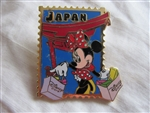 Disney Trading Pin 18015: 12 Months of Magic - Disney Store Country Stamp (Japan) Minnie