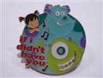 Disney Trading Pins 18135 Magical Musical Moments - If I Didn't Have You (Dark Green)