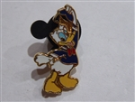 Disney Trading Pin 1837 Hats-Off Donald
