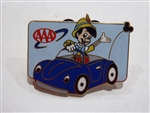 Disney Trading Pin AAA Travel Company 2003 Pin - Pinocchio