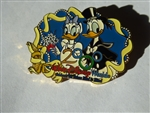 Disney Trading Pin 1869 WDW - 2000 Wedding Series (Donald & Daisy Duck / June)