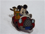 Disney Trading Pin Disney AAA Travel Company 2003 Pin - Mickey & Pluto