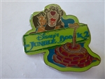 Disney Trading Pin 18708 UK Disney Store - Jungle Book 2 (Mowgli, Baloo, Kaa)