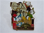 Disney Trading Pin 18924 WDW - AK Pin Trading Porch - Hidden Mickeys #6 (Nephews)