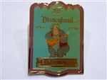 Disney Trading Pin 1933 DLR - Cast Member 35th Anniversary Shield Set (Bear Country)