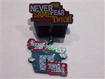 Disney Trading Pins 19368 WDW - Tower of Terror (Never the Same Fear Twice) Dangle/Annual Passholder
