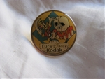 Disney Trading Pin 1945: Kodak 1992 EuroDisney - Pirates of the Caribbean - Donald Duck (Yellow Variation)