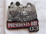 Disney Trading Pin 19801: WDW - Presidents' Day 2003 (Mount Rushmore)