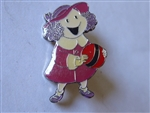 Disney Trading Pin 1996 DLR - Fantasia 2000 Series (Little Girl Rachel) black production sample