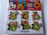 Disney Trading Pins 2020 MICKEY AND FRIENDS 6 PIN BOOSTER SET
