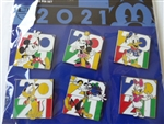 Disney Trading Pins Mickey Mouse and Friends 2021 Booster Set