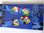 Disney Trading Pins Mickey Mouse and Friends 2021  Lanyard Starter Set