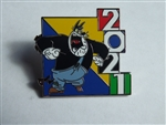 Disney Trading Pin 2021  Dated Mystery Series Peg Leg Pete